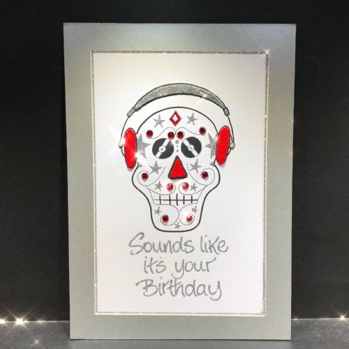 DJ Skull with Frame
